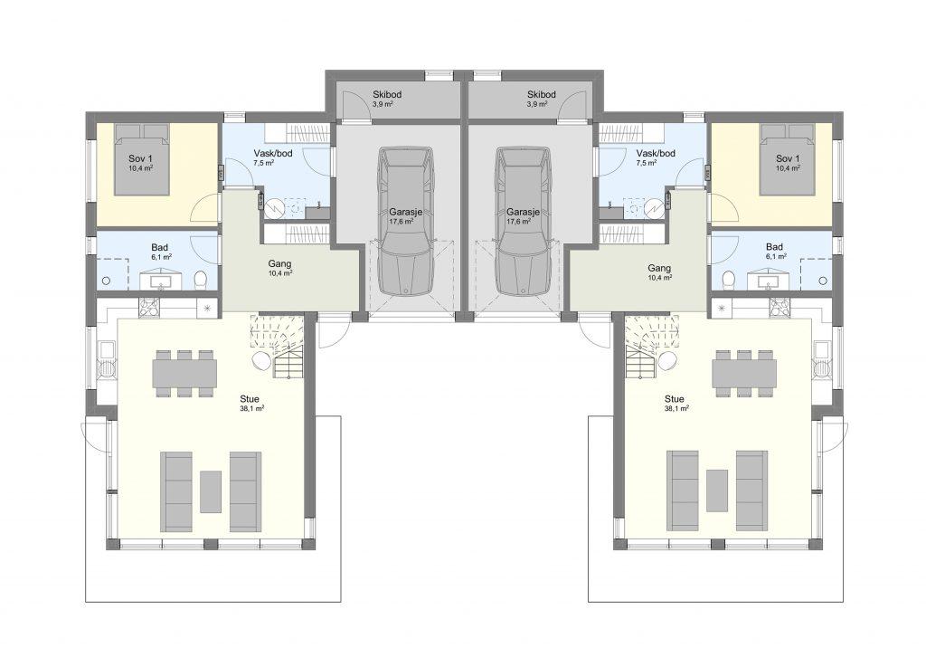 Njardarheim 1 plan 1