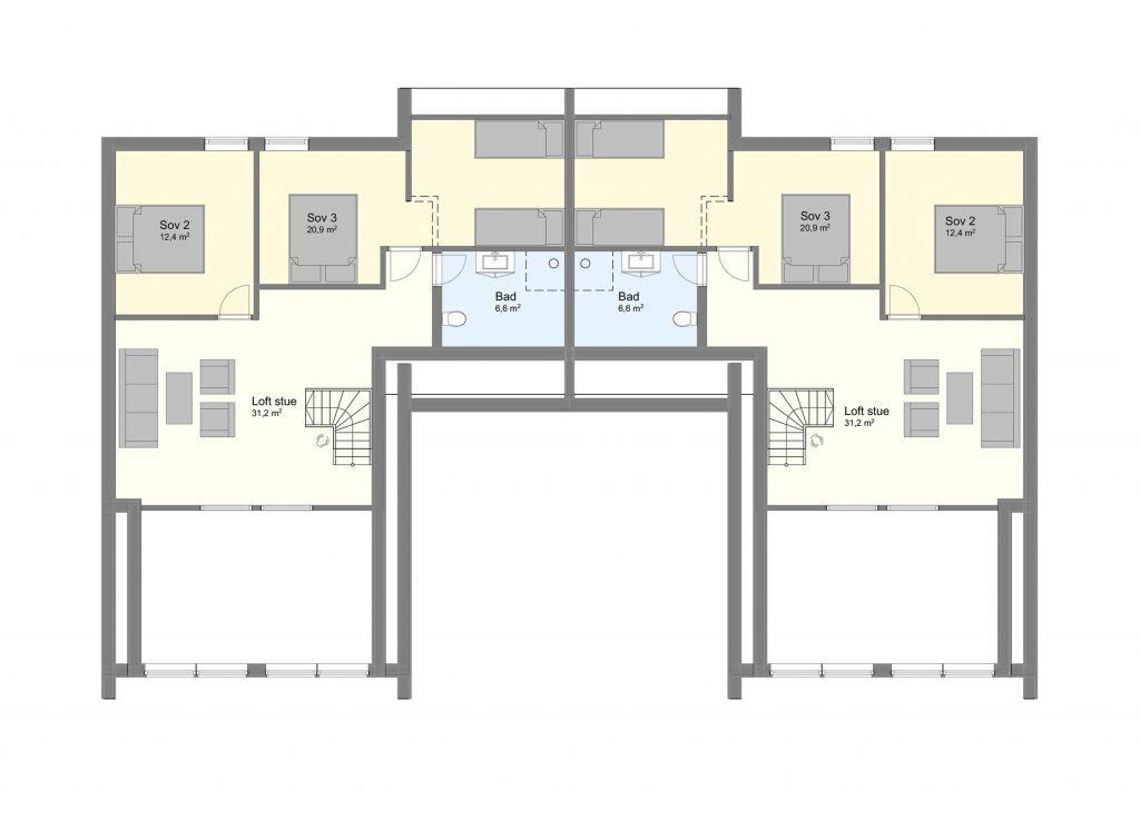 Njardarheim 1 plan 2
