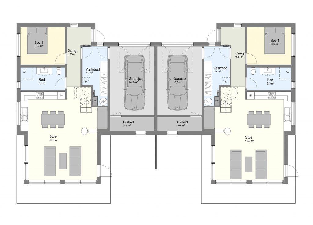 Njardarheim 2 plan 1